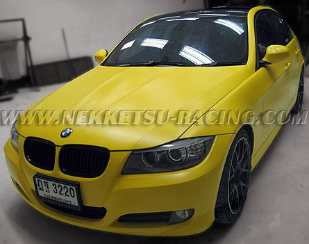 สติกเกอร์แต่ง Wrap Car BMW E90