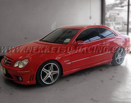 สติกเกอร์แต่ง Wrap Car Benz CLK200, CLK240