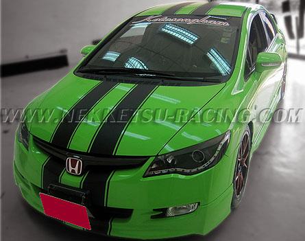 สติกเกอร์แต่ง Wrap Car Honda Civic FD 2006-2011