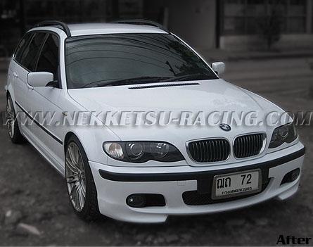 สติกเกอร์แต่ง Wrap Car BMW E46